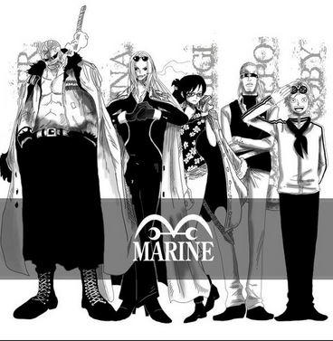 【ワンピース】海軍の階級一覧を公開!今後注目の海軍キャラは?